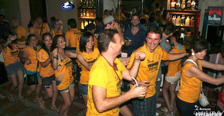 Boracay Pub Crawl Activities